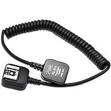 Impulsfoto - Cable E-TTL para flash de cámara Canon Speedlite (1,8 m, compatible con modelos 580EX II, 580EX, 550EX, 540EZ, 430EX II, 430EX, 420EX, 380EX, 220EX, semejante a OC-E3)