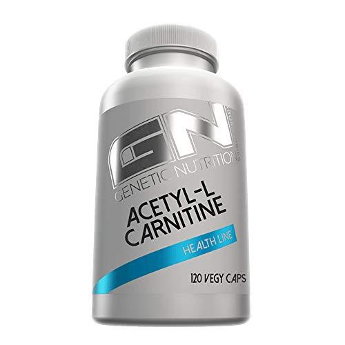 GN Laboratories Health Line Acetyl L-Carnitin Fettabbau Muskelaufbau Fatburner Fettverbrennung Unterstützung 120 Kapseln