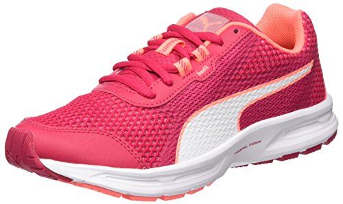 Puma Damen Essential Runner Outdoor Fitnessschuhe, Pink (Love Potion-White-Nrgy Peach), 40 EU (Schuhe Damen Sport Puma)
