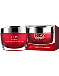 Olay Regenerist 3 Point Firming Anti Ageing Cream Moisturiser for Firm Skin, 50 ml