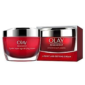 Olay Regenerist 3 Point Firming Anti Ageing Cream Moisturiser for Firm Skin, 50 ml
