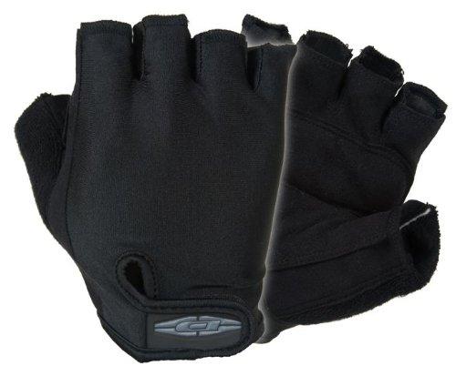 Preisvergleich Produktbild Damaskus Bike Patrol Handschuhe,-mit Halbfinger Lycra Rücken und Clarino Handflächen, DC290