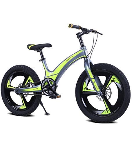 SXMXO 24 Zoll Kinderfahrrad, Kinderfahrräder, Mädchen Und Jungen Ab 10-15 Jahre Mountainbikes 20 Zoll Kinderrad Cruiser Fahrrad Für Kinder,B
