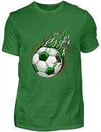 Hochwertiges Herren Shirt - I Mexico Fussball T-Shirt WM Shirt 2018 EL Tri Mexiko Nationalmannschaft LänderGeschenk