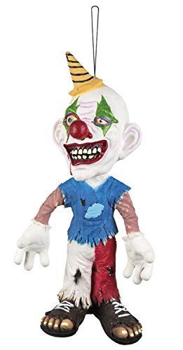 ion Figur Böser Clown 44 cm, Mehrfarbig ()