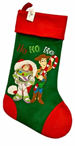 Toy Story Buzz and Woody Christmas Stocking Official Disney Parks 2013 merchandise