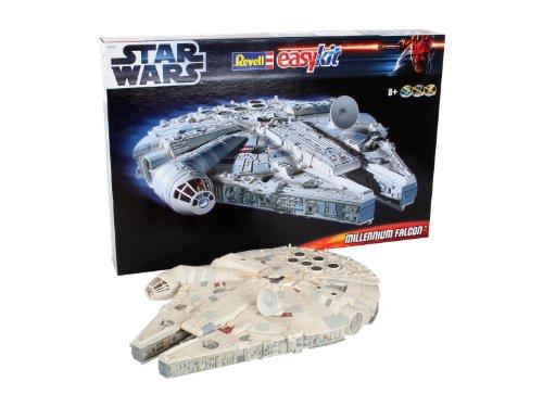 Revell - Maqueta EasyKit Star Wars Millennium Falcon, Escala 1:72 (06658)