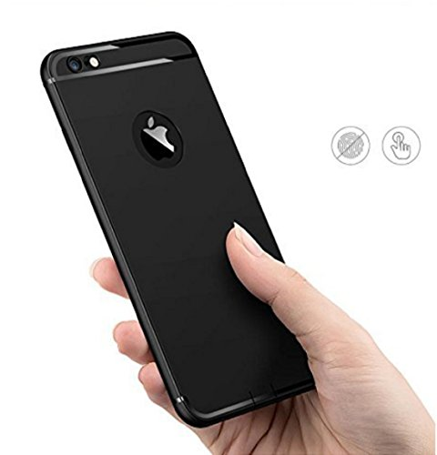 ZIKSA IPHONE 5/5S/5SE CASE CANDY Soft Silicone With Anti Dust Plugs Shockproof Slim Back Cover Case For Apple Iphone 5/5S/5SE - Black  available at amazon for Rs.169