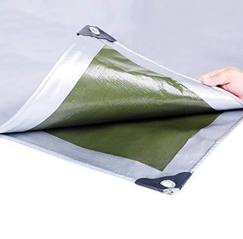 HRFHLHY Verdickt PE Kunststoff Regen Tuch Sun Plane Outdoor Markise Tuch Knopfloch Falten Isolierung Film Tuch LKW Schuppen,8X12m (8 X 12 Schuppen)