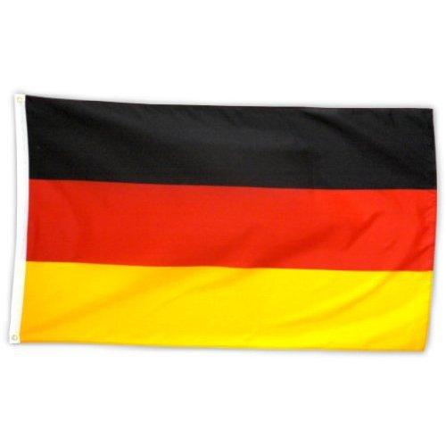 Flagge Fahne ca. 90x150 cm : Deutschland BRD Deutschlandflagge Deutschlandfahne Nationalflagge Nationalfahne - 2