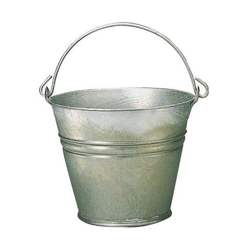 Xclou 392220 Wassereimer feuerverzinkt 11 Liter 30 cm