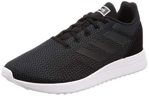 adidas Run70S Scarpe Running Donna, Nero (Cblack/Carbon/Ftwwht Cblack/Carbon/Ftwwht), 36 EU (3.5 UK)
