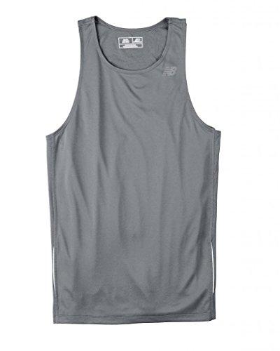 NEW BALANCE hommes Tempo T-shirt de course à pied pour femme Gravier