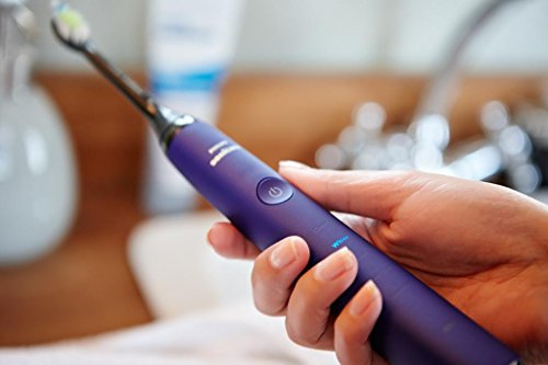 Philips Sonicare DiamondClean Electric Toothbrush – Amethyst Limited Edition (UK 2-pin plug)