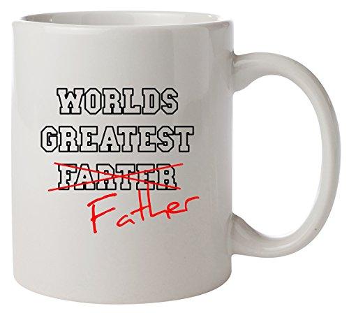 Minamo Worlds Greatest Farter Father Funny Fathers Day Kaffeetasse