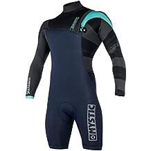 Mystic 2018 Majestic ND 3 2mm Zip Free Long Arm Shorty Wetsuit Mint 180135  Wetsuit d76f904b381