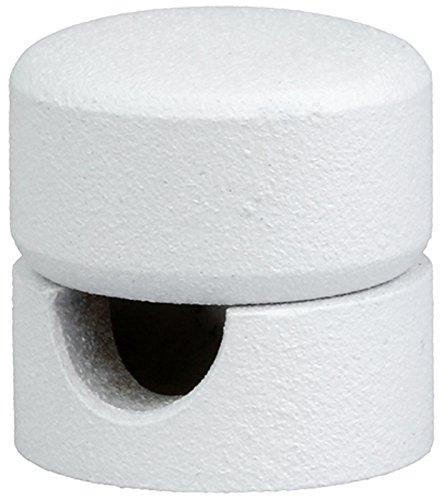 Lampen Distanz-Aufhänger Aus Metall Affenschaukel Kabelhänger Kabelbefestigung (Weiß)