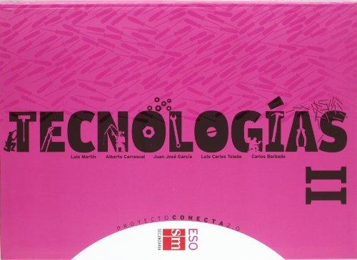 Portada del libro Tecnologías II. ESO. Conecta 2.0 - 9788467539998