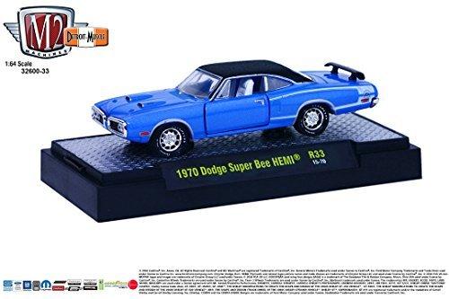 7146e3fcbb431 1970 DODGE SUPER BEE HEMI   Detroit Muscle Release 33   M2 Machines 2015  Castline Premium
