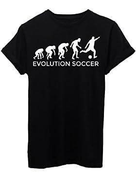 T-Shirt EVOLUZIONE CALCIO SOCCER SPORT - EVOLUTION - by iMage
