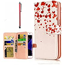 KSHOP Case Cover per iPhone 6/6S Caso PU Pelle Silicone