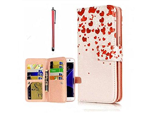 KSHOP Case Cover per iPhone 7 plus Caso PU Pelle
