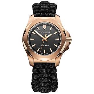 Victorinox INOX Reloj para Mujer Analógico de Cuarzo con Brazalete de Nylon V241880