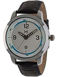 Killer Analogue Silver Dial Men's Watch - KLM149C