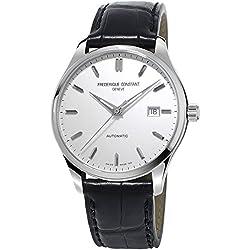 Frederique Constant Herren-Armbanduhr XL Analog Automatik Leder FC-303S5B6