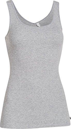 Under Armour Damen Fitness T-Shirt und Tank UA Double Threat True Gray Heather