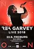 TheConcertPoster Rea Garvey - Live, Freiburg 2018 | Konzertplakat | Poster Original