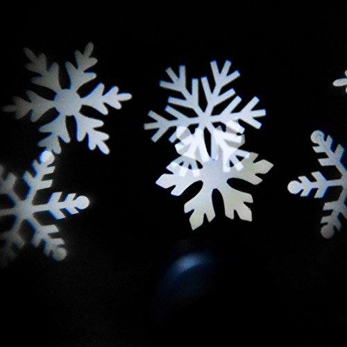 Proiettore Luci Natalizie Interno.Proiettore Luci Natale A Led Fiocchi Di Neve 4w Bianco Freddo Ip65