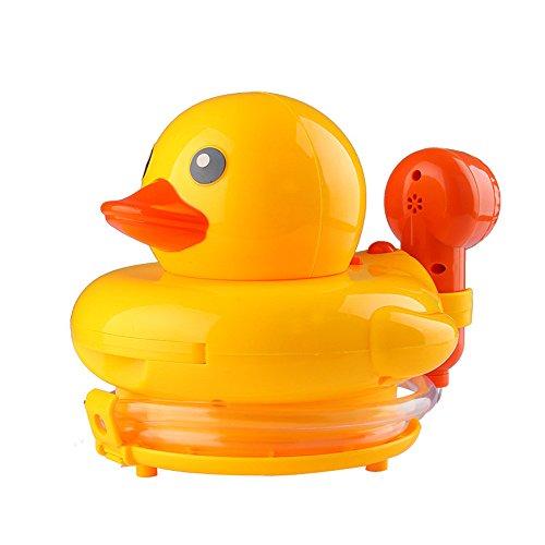 INCHNAT Funny Baby-Bad-Spielzeug-Spray Enten Wasser treiben Badewanne Dusche Pool Badezimmer Spielzeug elektronische rotierenden Wasserspielzeug Mini Spray dcuk Dusche Pool & Badewanne Aktivität Für Jungen und Mädchen