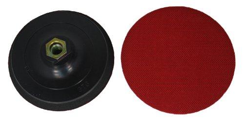 Plato de pulido diámetro de plato de lija con velcro de 125 mm - plato con apoyo M14 rosca