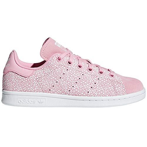 Adidas Stan Smith para Mujer, Zapatillas Blancas, Deportivas de Moda. Tenis, Sneaker. (38 EU, Light Pink/FTWR White)