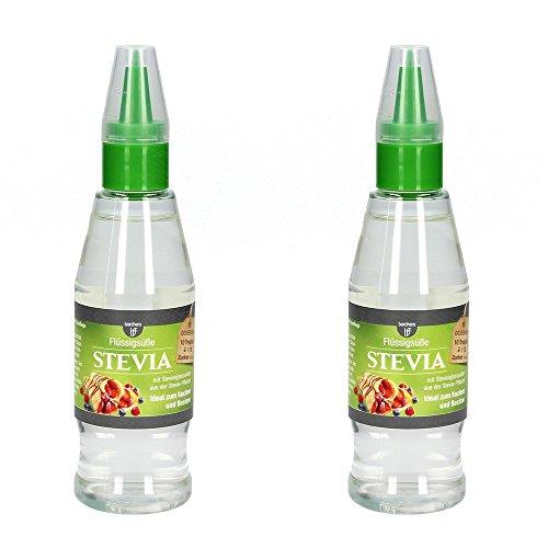 2 x bff Stevia flüssig Tafelsüße 125 ml.