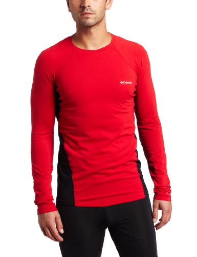 Columbia Herren Baselayer Midweight Long Sleeve Top XXL rot