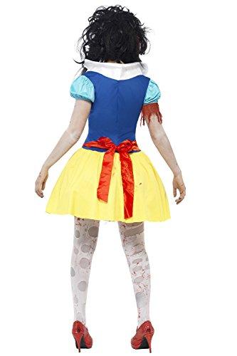 Damen Zombie Schnee weiß Twisted Märchen Halloween Kostüm Outfit