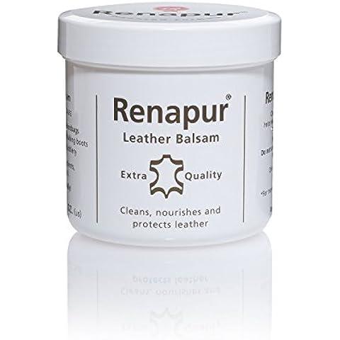 Renapur - Crema specifica per prodotti in pelle, confezione da 200 ml