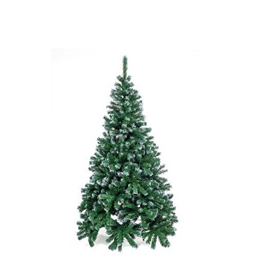 Home Christmas Albero Natale, PVC, Verde, 150 cm