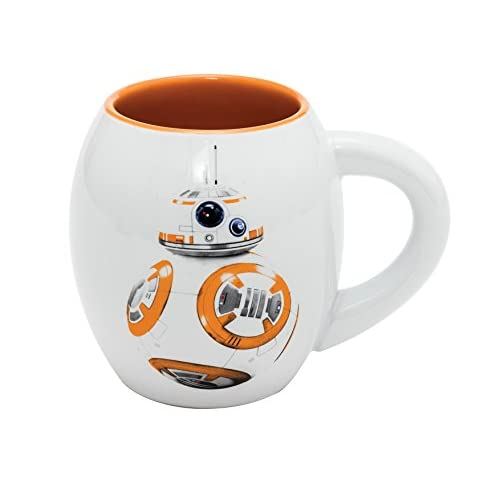 Star Wars BB-8 - Taza Oval de cerámica en Paquete Regalo 11 cm (500 ml) 4