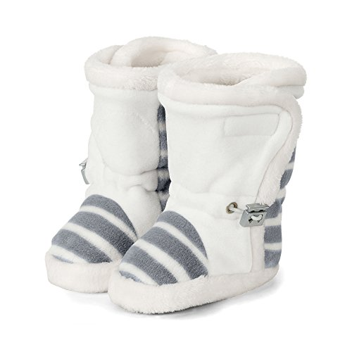 Sterntaler Mädchen Baby-Schuh Stiefel, Grau (Rauchgrau), 19/20 EU