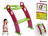 Best Tabourets Step - Froggie Toddler Abattant de WC avec échelle Vert Review