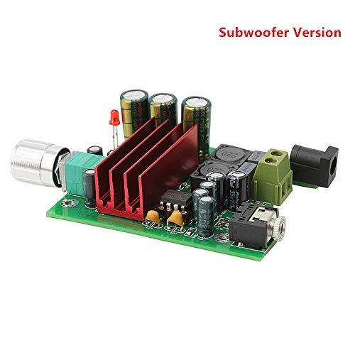 Nobsound 100W TPA3116D2 Amplifier Subwoofer Digital Power Amp Board NE5532 OPAMP 8-25V (Subwoofer)