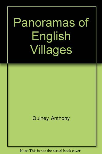 Panoramas of English Villages by Anthony Quiney (1993-05-20)