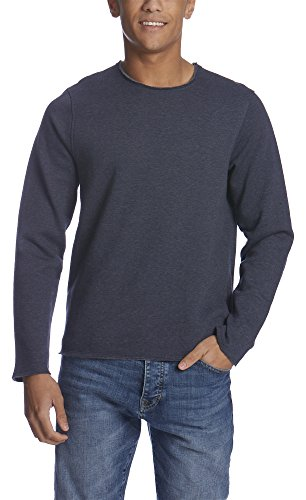 Bench Occasional, Felpa Uomo, Blau (Dark Navy Blue Marl NY031X), Medium