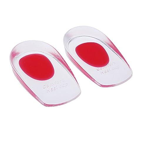 tinxi® semelles en silicone talonnette insère talonnettes orthèses Gr.