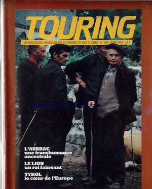 TOURING CLUB DE FRANCE [No 958] du 01/06/1983
