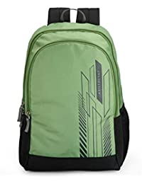 Aristocrat Zing 24 Ltrs Green Casual Backpack (BPZING1GRN)
