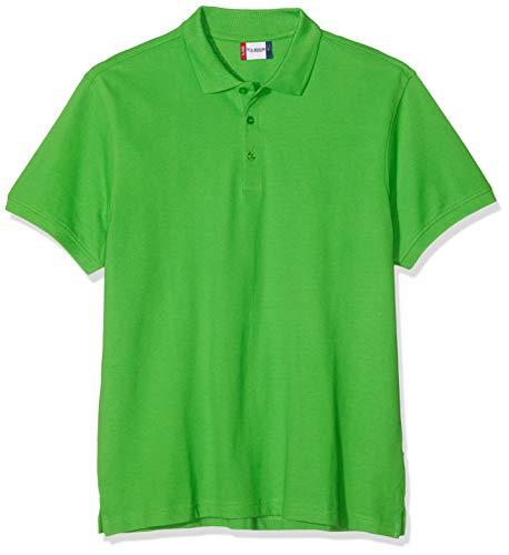 Clique Herren Classic Lincoln Polo Poloshirt, Apple Green, Medium -